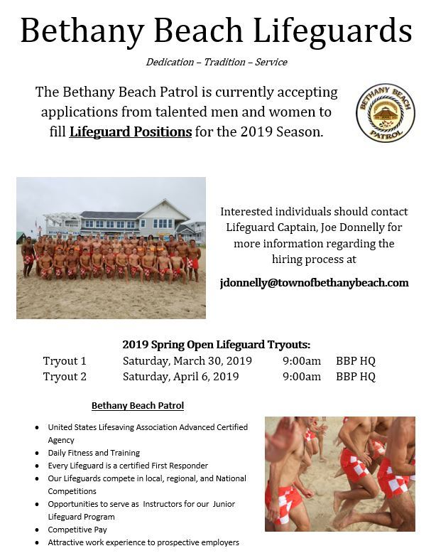 Lifeguards Recruiting Flyer